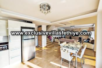 Exclusive 4 Beds Private Pool Villa Rentals Hisaronu Centre in Fethiye Turkey