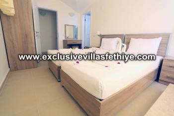 Stunning 4 beds and private villa rentals in Ovacik Fethiye Turkey