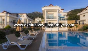 Luxury Villa with 4 bedrooms, 4 bathrooms and private pool in Hisaronu, Turkey
