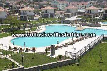 Exclusive 2 beds apartments with large pool rentals in Ovacik Fethiye Turkey
