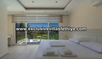 Exclusive luxury 2 beds apartments  with large pool  rentals in Ovacik Fethiye Turkey