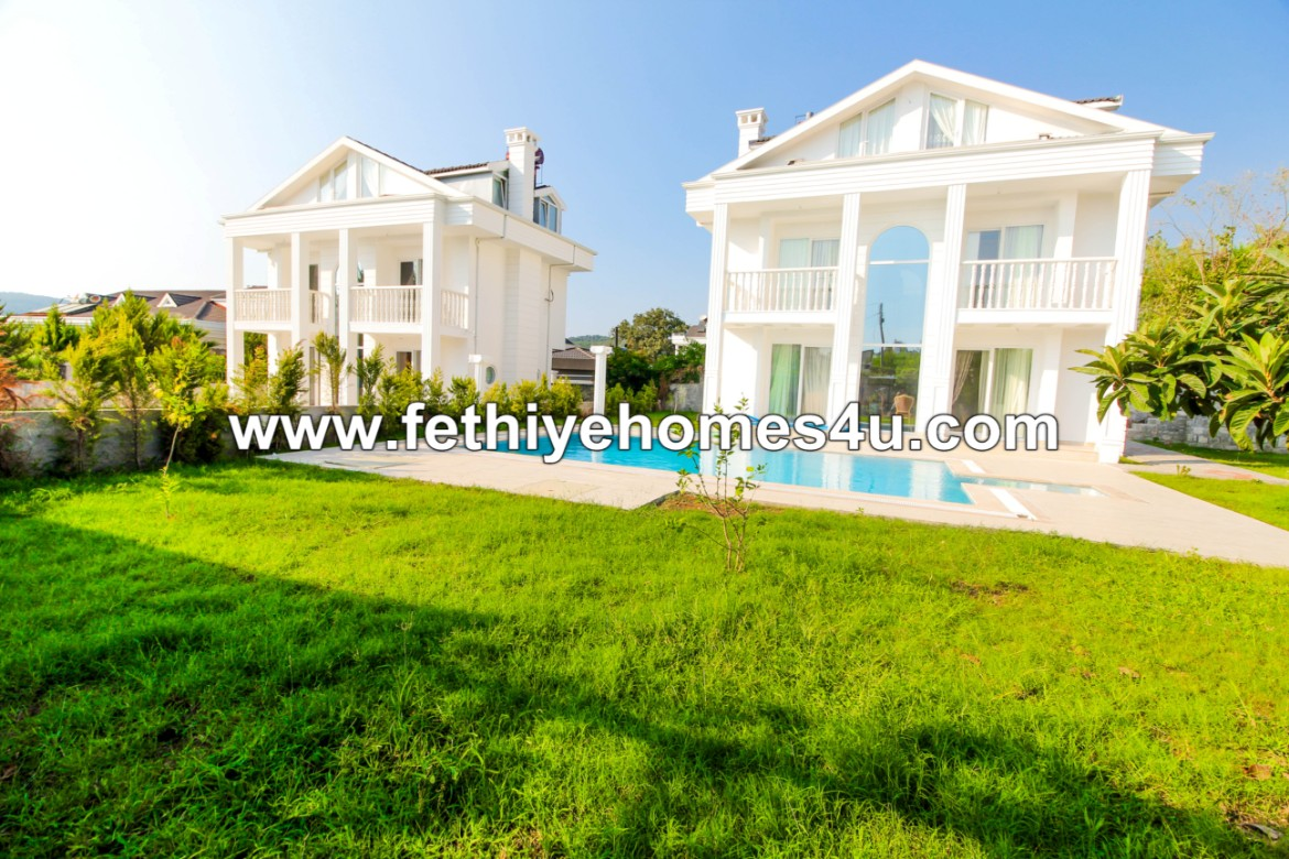 Stunning Exclusive Villa with 4 beds 4 baths and private pool in Ovacık