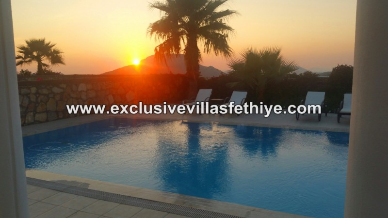 Stunning 3 beds 3 baths and private villa rentals in Ovacik Fethiye Turkey