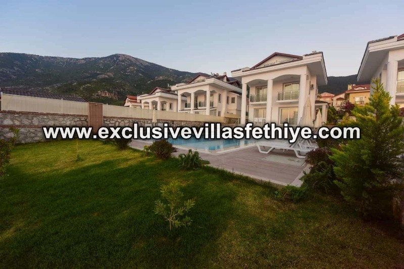 Beautiful Superb 4 Bedrooms and  Private Villa Rental in Ovacık