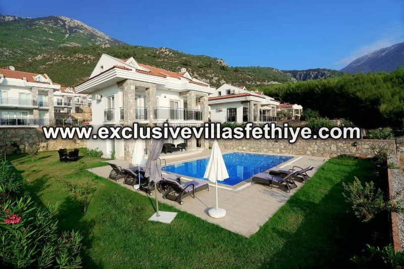 Beautiful Superb 3 Bedrooms and  Private Villa Rental in Ovacık