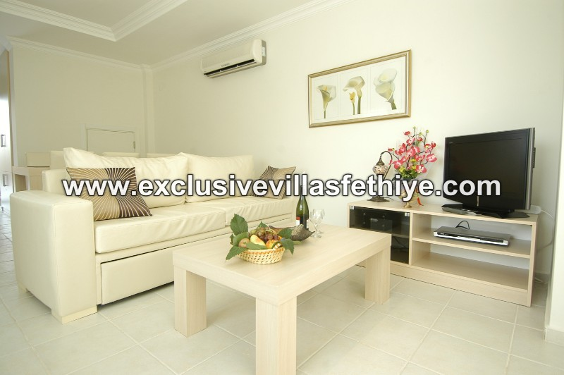 Beautiful Superb 3 Bedrooms with 3 baths and shared pool Villa Rental in Ovacık Fethiye