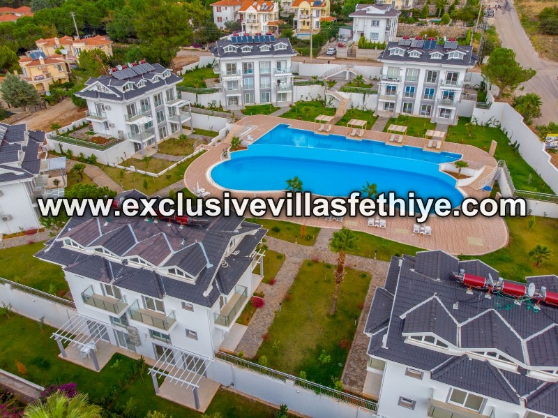 Super 3 beds penthouses located at top of the self catering holiday village, Ovacik Fethiye Turkey
